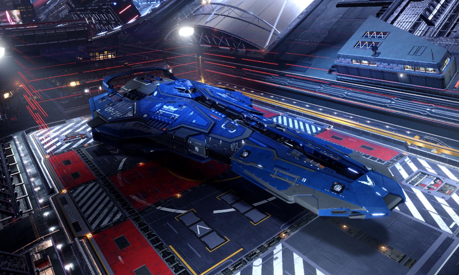 Screenshots Elite Dangerous Ships Federal Corvette